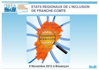 9 Novembre 2012 à Besançon