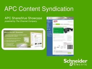 APC Content Syndication