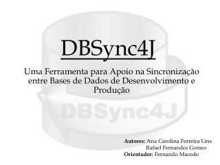 DBSync4J