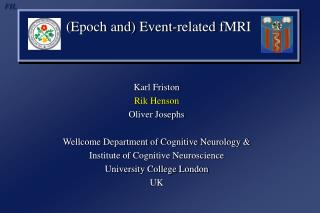 (Epoch and) Event-related  fMRI