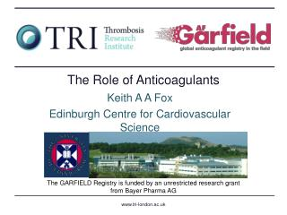 The Role of Anticoagulants