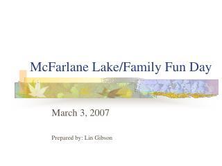 McFarlane Lake