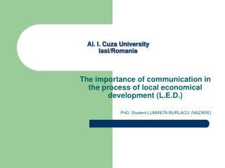 Al. I. Cuza University Iasi