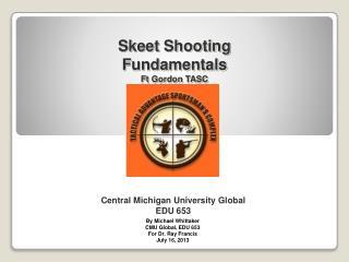 Central Michigan University Global EDU 653