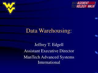 Data Warehousing: