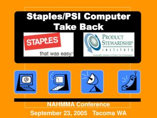 Staples/PSI Computer Take Back