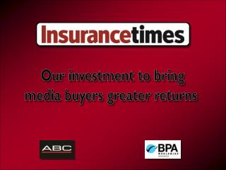 Our investment to bring media buyers greater returns