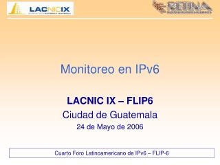 Monitoreo en IPv6