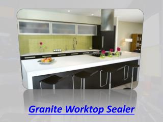 Granite Worktop Sealer
