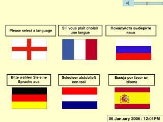 Escoja por favor un idioma