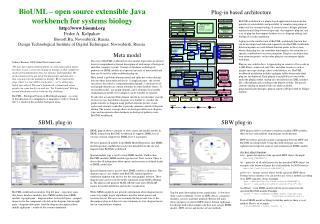 BioUML – open source extensible Java workbench for systems biology biouml