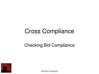 Cross Compliance