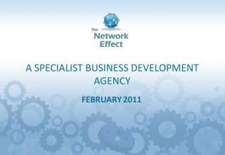 A SPECIALIST BUSINESS DEVELOPMENT AGENCY