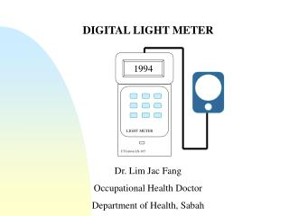 DIGITAL LIGHT METER