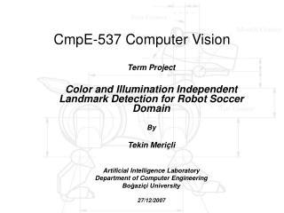 CmpE-537 Computer Vision