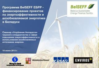 Общая информация о Программе  BelSEFF