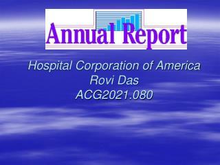 Hospital Corporation of America Rovi Das ACG2021.080