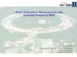 Gluon Polarization Measurements with Polarized Protons at RHIC