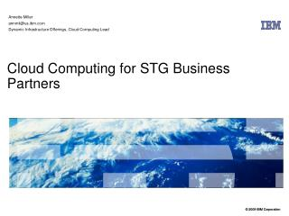 Cloud Computing for STG Business Partners
