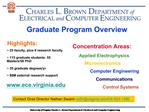 Graduate Program Overview