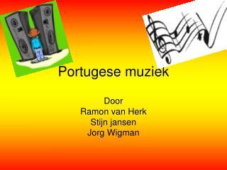 Portugese muziek