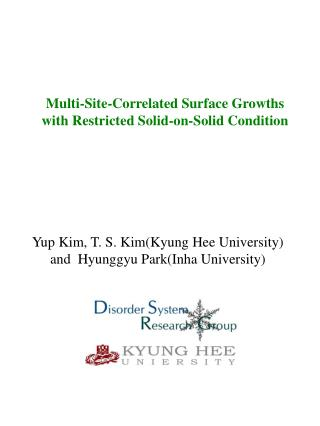 Multi-Site-Correlated Surface Growths with Restricted Solid-on-Solid Condition