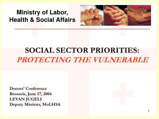 Ministry of Labor, Health & Social Affairs