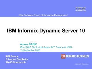 IBM Informix Dynamic Server 10