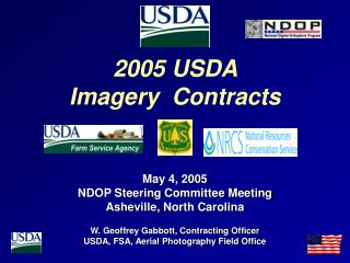 2005 USDA  Imagery  Contracts
