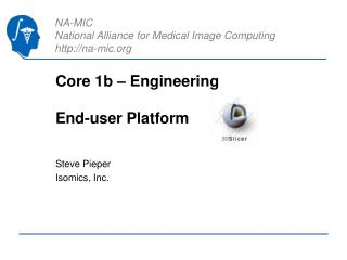 Core 1b – Engineering End-user Platform
