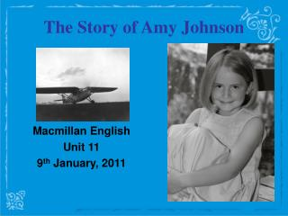 The Story of Amy Johnson