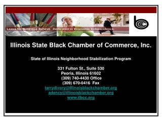 Illinois State Black Chamber of Commerce, Inc.