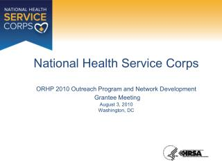 An Overview of the National Health Service Corps