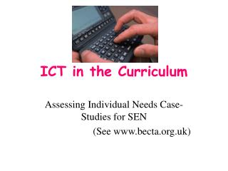ICT in the Curriculum