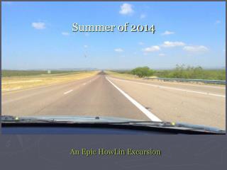 Summer of 2014
