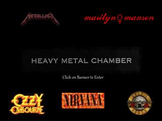 This is My Heavy Metal Chamberthis site is almost done