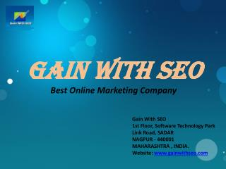 GaIN With seo Best Online Marketing Company