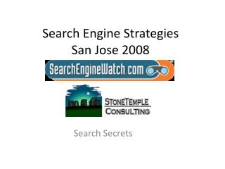 Search Engine Strategies San Jose 2008