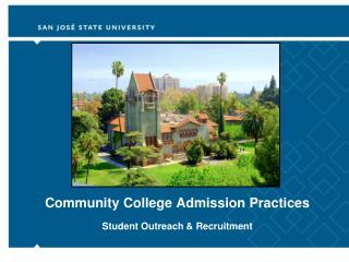Community College Admission Practices