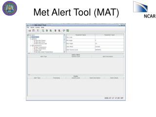 Met Alert Tool (MAT)