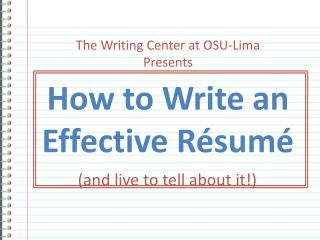 How to Write an Effective R sum