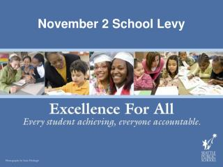 November 2 School Levy