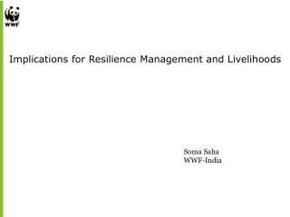 Implications for Resilience Management and Livelihoods