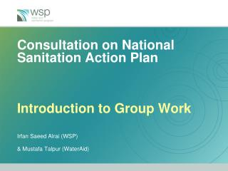 National Sanitation Action Plan  (N-SAP):