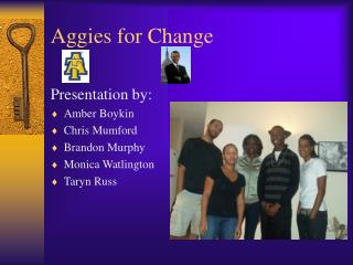 Aggies for Change
