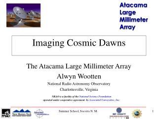 Imaging Cosmic Dawns