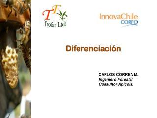 CARLOS CORREA M. Ingeniero Forestal Consultor Apícola.