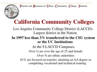 California Community Colleges