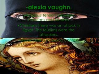 -alexia vaughn.