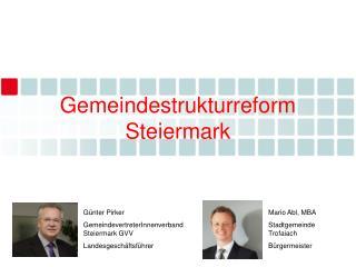 Gemeindestrukturreform Steiermark